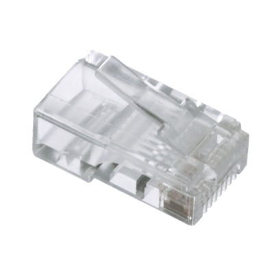 Conector RJ45 UTP Cat. 5e flexible