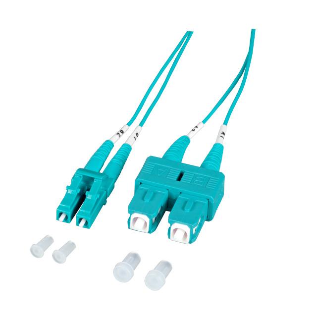 Latiguillo IDEAL LC/SC DUPLEX UPC OM3 MM 1.9mm 1m